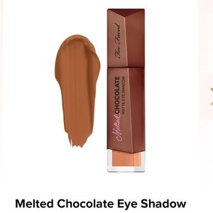 Too Faced | melted chocolate matte eyeshadow